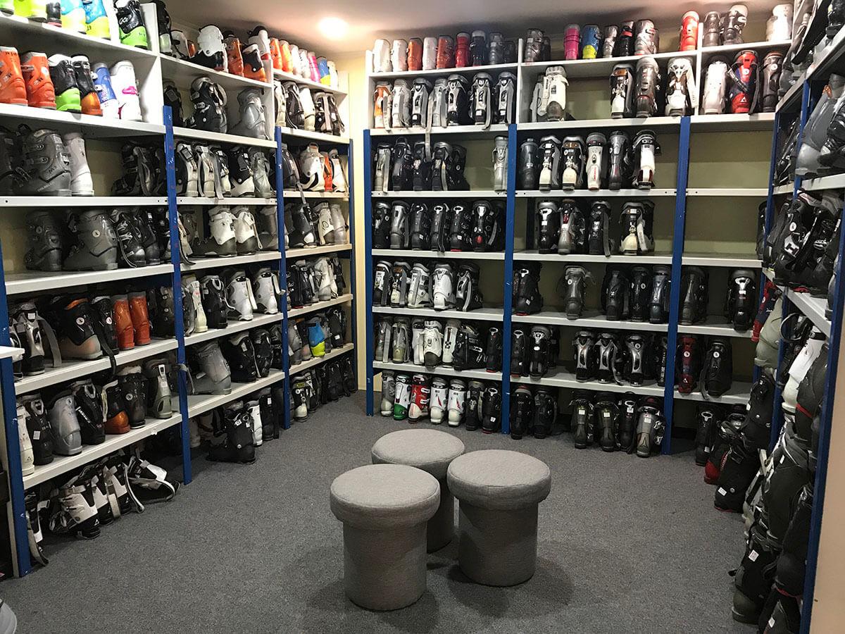 Sárisport sícipők